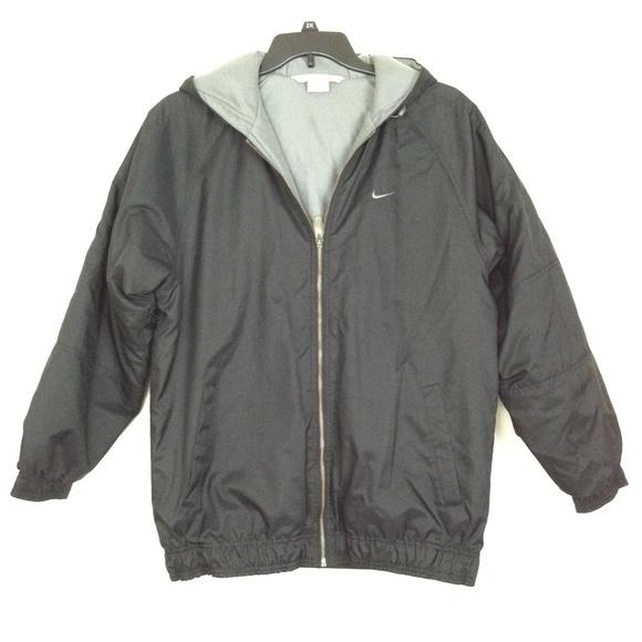 nike fleece lined jacket mens